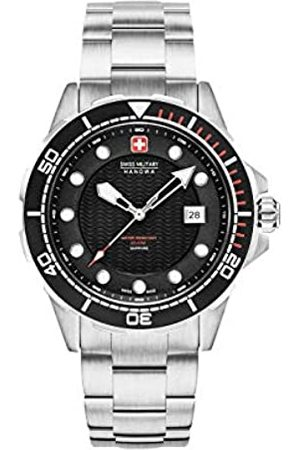 Swiss Military Mens Analogue Classic Quartz Watch with Stainless Steel Strap 06-5315.04.007