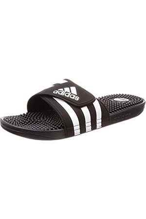 adidas Unisex Adult's Adissage Beach & Pool Shoes, (Core /Ftwr )
