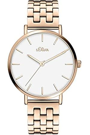 s.Oliver Quartz Watch with Stainless Steel Strap SO-3966-MQ