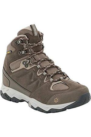 Jack Wolfskin Women's MTN Attack 6 Texapore Mid W Wasserdicht High Rise Hiking Shoes, (Coconut / 5222)