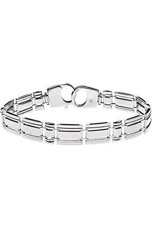 Citerna Sterling Triple Rectangle Bar Link Bracelet of Length 20 cm