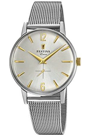 Festina Mens Analogue Classic Quartz Connected Wrist Watch with Stainless Steel Strap F20252/2