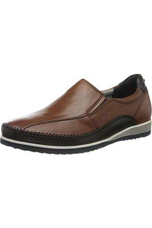 Sioux Men's Hajoko-701 Loafers, (Cognac 003)