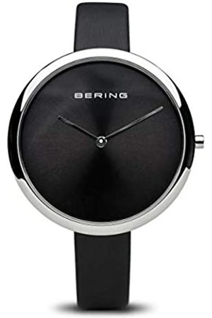 BERING Women's Analogue Quartz Watch with Leather Strap 12240-602