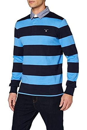GANT Men's Original Barstripe Heavy Rugger Polo Shirt
