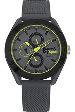 Superdry Mens Analogue Quartz Watch with Silicone Strap SYG244E