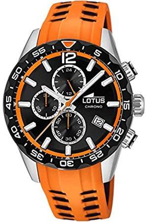 Lotus Mens Chronograph Quartz Watch with Silicone Strap 18590/1