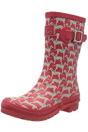 Joules Women's Molly Welly Wellington Boots, ( Dalmatian Dog)