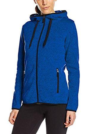 Stedman Apparel Women's Active Knit Fleece Jacket Long Sleeve Sports Knitwear