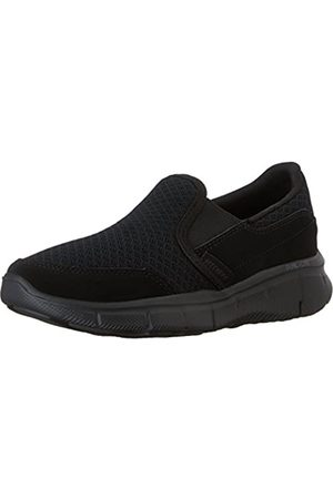 Skechers Boy's Equalizer-Persistent Slip On Trainers, ( Bbk)