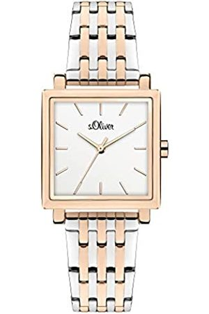 s.Oliver Quartz Watch with Stainless Steel Strap SO-3983-MQ