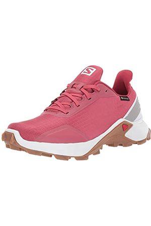 Salomon Women's ALPHACROSS GTX W' Trail Running Shoes, (Garnet Rose/ /Gum1a)