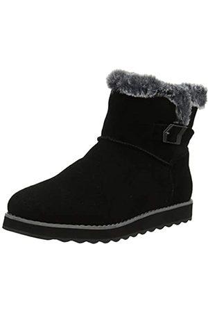 Skechers KEEPSAKES 2.0, Women Ankle Boots, ( Suede Blk)