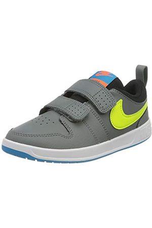 Nike Unisex Kids' Pico 5 (psv) Sneaker, Smoke Gray/Lemon Venom Laser