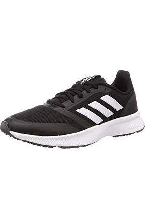 adidas Men's Nova Flow Running Shoe, Core /FTWR / Six