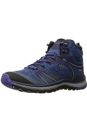 Keen Women's Terradora Waterproof Mid High Rise Hiking Shoes, (Astral Aura/Liberty 0)