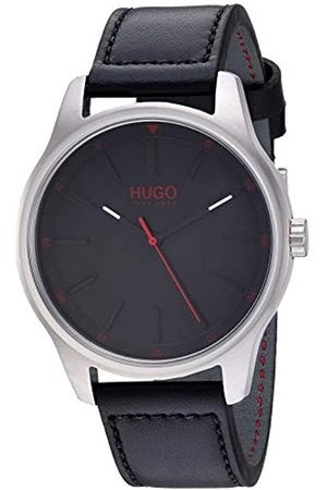 HUGO BOSS Mens Analogue Classic Quartz Watch with Leather Strap 1530018