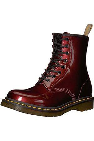 Dr. Martens Women's 1460 W Vegan Chrome Ankle Boots, (Oxblood 601)