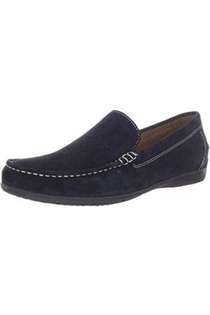Geox Men's U Siron A Loafer Flats - Blue