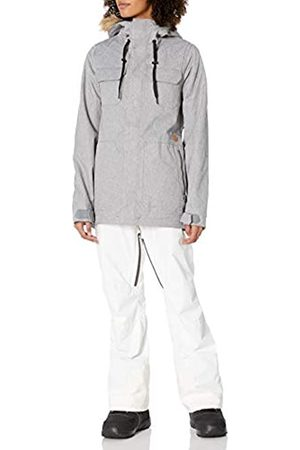 Volcom WomensH0451913Shadow Insulated Snow Jacket Insulated Jacket - Gray - Large
