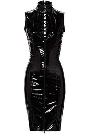 Black Level Vinyl Basque With Open Cups Lingerie  PVC Clothing