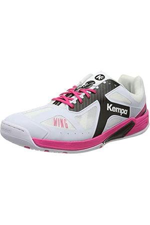 Kempa Women's Wing Lite Handball Shoes, (Blanco/Negro/Fucsia 000)