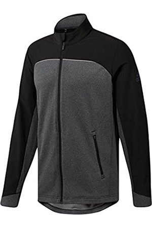 adidas Men's Go - to Jacket Track, (Negro/Gris Cy7449)