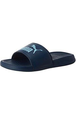 Puma Unisex Niño's Popcat 20 Jr Zapatos de Playa y Piscina, Azul (Dark Denim-Gulf Stream 03)