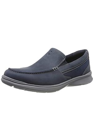 Clarks Men's Cotrell Easy Loafers, (Navy Combi Navy Combi)