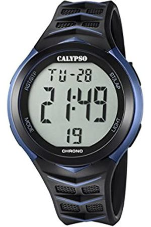Calypso Mens Digital Quartz Watch with Plastic Strap K5730/2