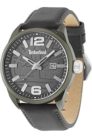 Timberland Men's Analogue Quartz Watch with Leather Strap 15029JLGN/61