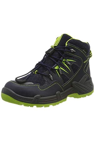Superfit Boys' Canyon Snow Boots, (Blau/Grün 80)