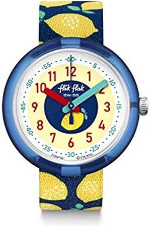 Flik Flak Unisex_Adult Analogue Swiss Quartz Watch with Textile Strap FPNP061