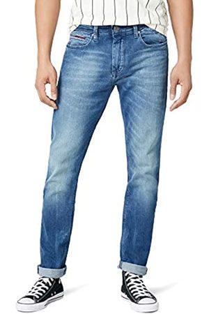 Tommy Jeans Herren Tapered Steve Slim Jeans Blau (Berry Mid COMFORT 911) W30/L32
