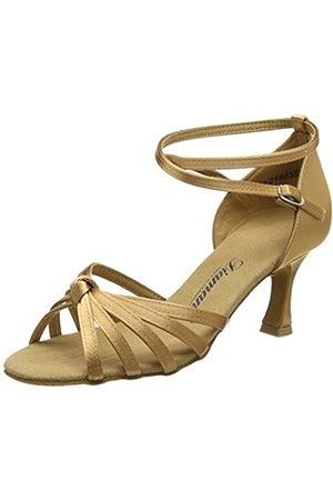 Diamant Women's Damen Latein Tanzschuhe Ballroom Dance Shoes, (Hautfarben)