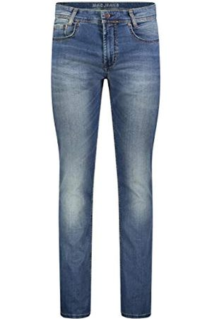 Mac Herren Straight Jeans Arne Authentic wash, Grau H786)