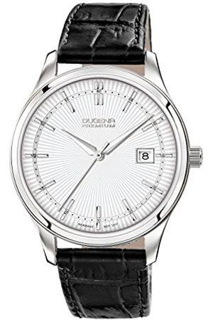 DUGENA Men's Analogue Quartz Watch with Leather Strap 7000210