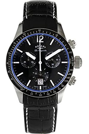 Rotary Men's Analogue Quartz Watch with Leather Strap GS90152/04