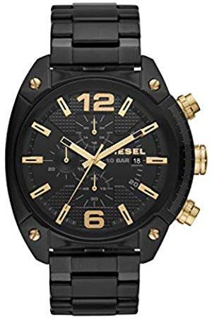 Diesel Mens Chronograph Quartz Watch with Stainless Steel Strap DZ4504