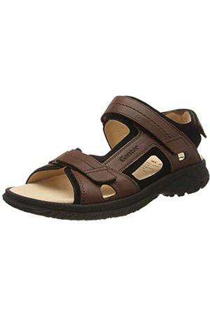 Ganter Men's Giovanni-g Closed Toe Sandals, (Nougat/Schwarz 2501)