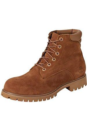 Timberland Men's 6 Inch Basic Alburn Waterproof Lace-up Boots, (Medium Nubuck)