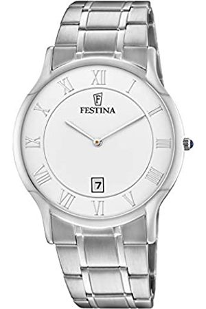 Festina Mens Analogue Quartz Watch with Stainless Steel Strap F6867/1
