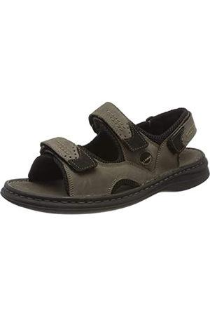 Josef Seibel Men's Franklin Ankle Strap Sandals, (Asphalt-Kombi 751 781)