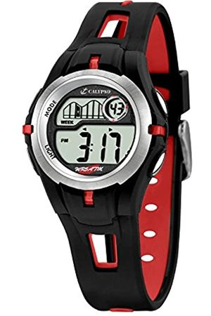 Calypso Children's Digital Watch with LCD Dial Digital Display and Plastic Strap K5506/1