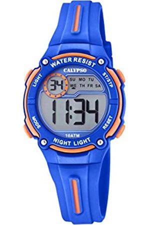 Calypso Boys Chronograph Quartz Watch with Plastic Strap K6068/3