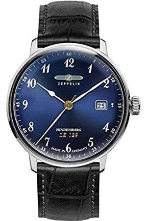 Zeppelin Unisex Chronograph Quartz Watch with Leather Strap 7046-3
