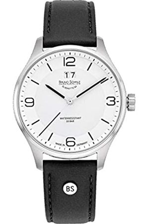 Bruno Söhnle Mens Analogue Quartz Watch with Leather Strap 17-13199-961