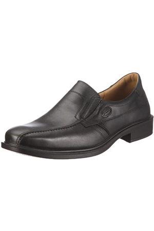 Jomos Men's Classic Loafers, (Schwarz)