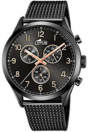 Lotus Mens Chronograph Quartz Watch with Stainless Steel Strap 18639/1