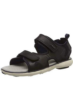 Geox Men's U Nebula L B Open Toe Sandals, ( /Dk Royal C0242)